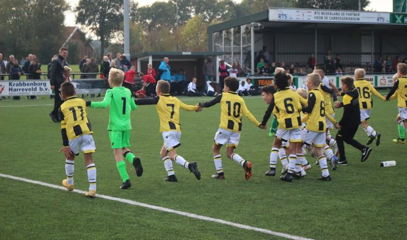 Vitesse winnaar eerste Romeo Delta-toernooi JO10. Foto: PR