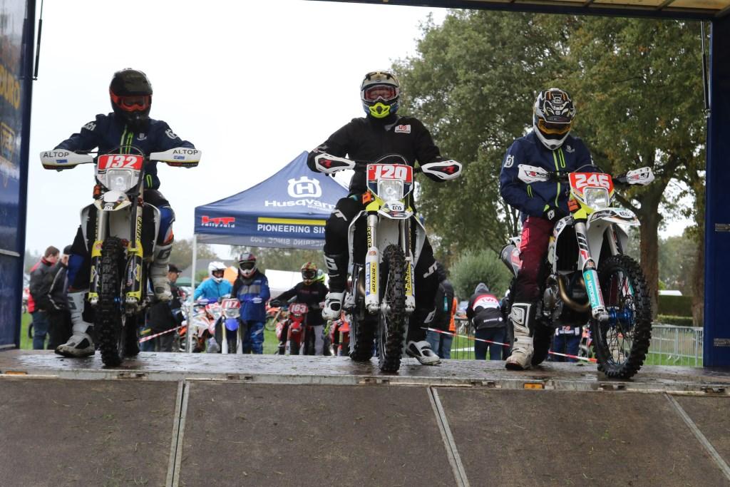 Bas Klein Haneveld, Erwin Plekkenpol en Thierry Pittens. Foto: Henk Teerink  © Achterhoek Nieuws b.v.