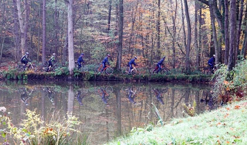 Grenslandtocht brengt fietsers op de mooiste plekken. Foto: van der Galien