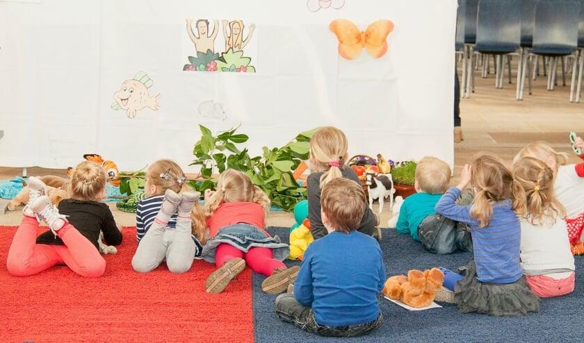 De Krabbeldienst is speciaal voor kinderen tot en met zes jaar. Foto: Christian Meuleman