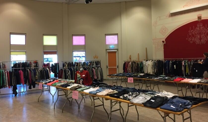 Inmiddels staat de derde editie van deze beurs op stapel.Op deze beurs wordt kleding voor dames en tienermeiden aangeboden vanaf maat XS. Foto: PR.