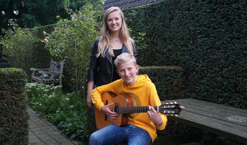 Laura van Kaam en Jan Elburg. Foto: Frank Vinkenvleugel