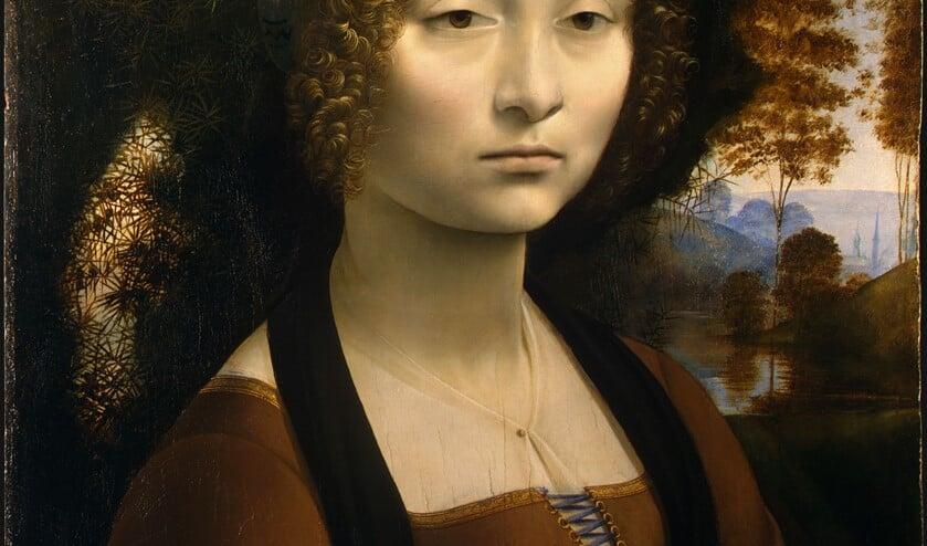 Maria Driessen vertelt over het werk van Leonardo da Vinci. Foto: PR