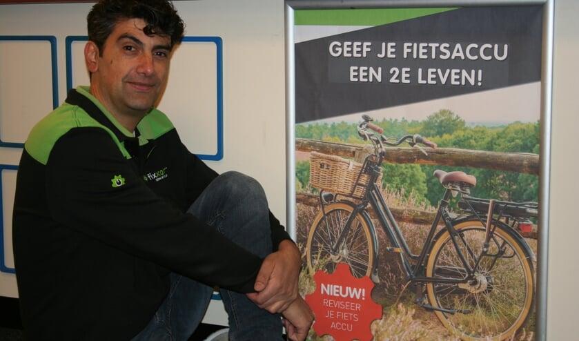 Fixxar geeft de fietsaccu een tweede leven. Foto: Verona Westera
