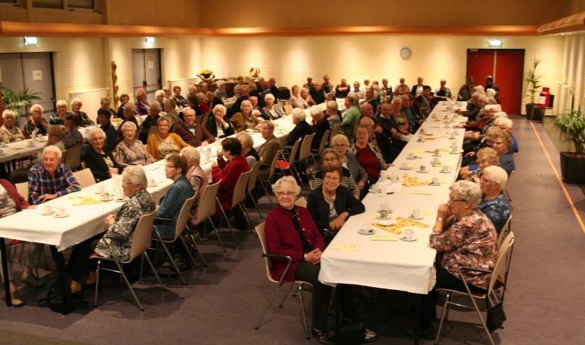 De Ontmoetingsdag voor Ouderen en Zieken in Wehl kan jaarlijks op veel belangstelling rekenen. Foto: PR