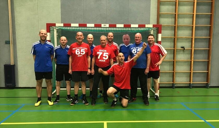 De zaalvoetballers van 't Bleykhuusken zoeken versterking. Foto: PR