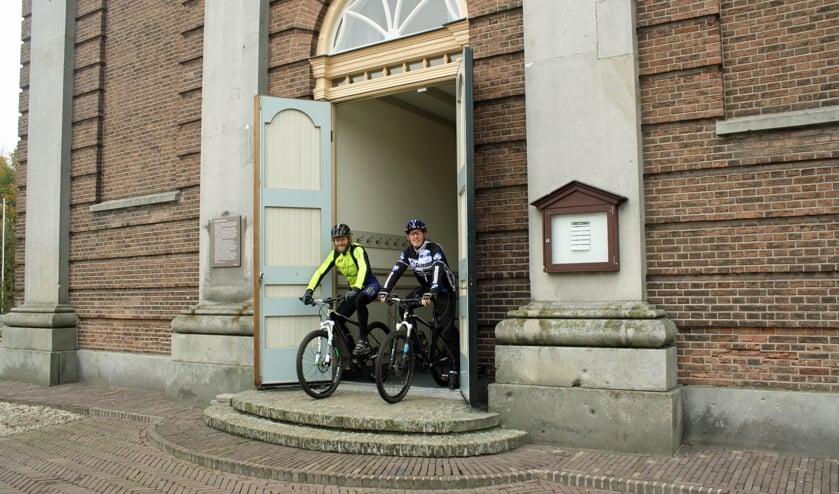 Teun en Bert, twee van de organisatoren. Foto: Henk Dommerholt