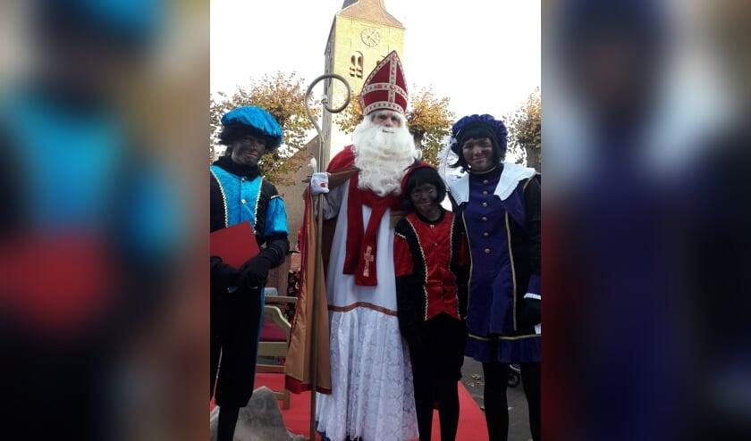 Sinterklaas en zijn pieten komen naar de Markt in Zelhem. Foto: PR