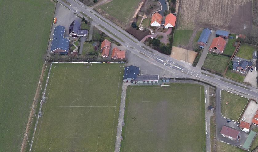 De voetbalvelden op Het Wilgenpark in Groenlo zullen plaatsmaken voor visvijvers.