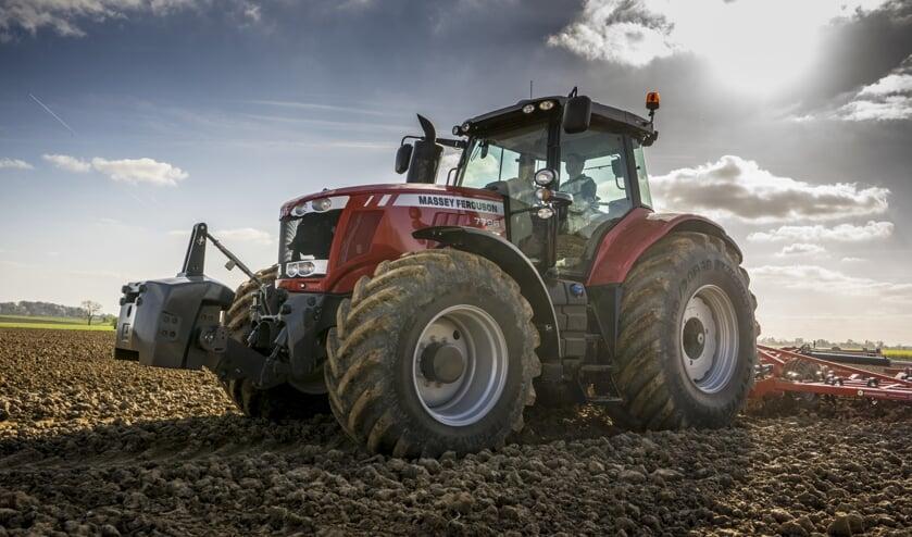 De MF 7726  traktor van Massey Ferguson. Foto: PR
