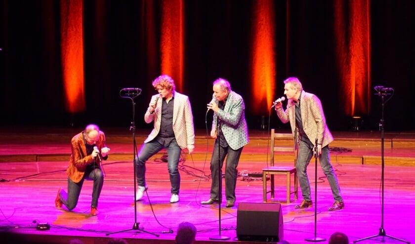 VpsKek: Martin Schoenmaker, Mark Vermeeren, Joep Hopstaken en Gerrit Hiddink. Foto: PR