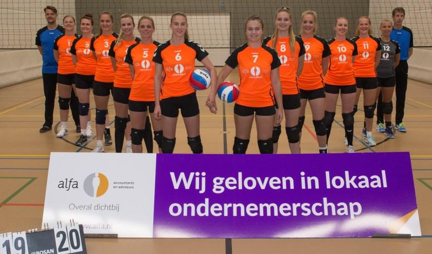De Hofnar-Bovo dames 1. Foto: Bas van der Bend.