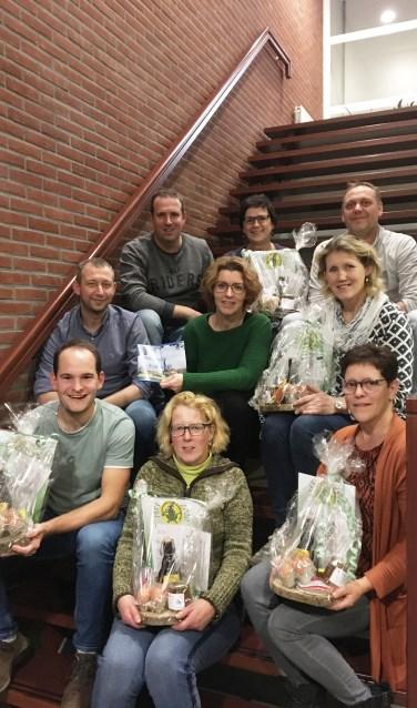 Het welkomstcomité van Rietmolen. Foto: eigen foto