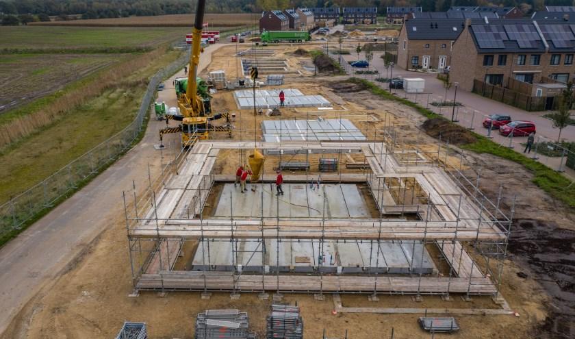 Een nieuwbouwproject in aanbouw in Deventer. Foto: PR