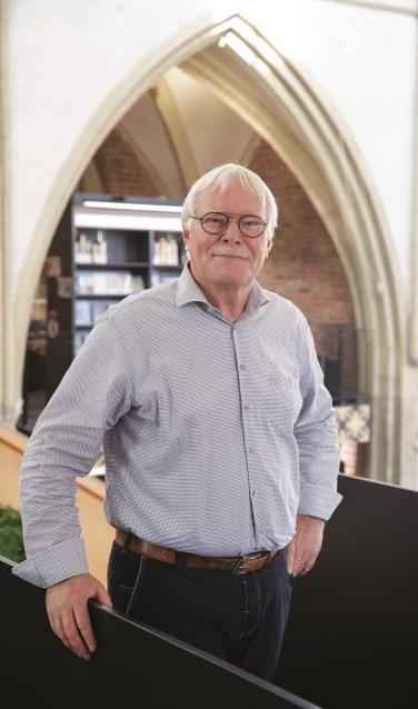 Gerard Huis in t Veld directeur Graafschap Bibliotheken. Foto: Patrick van Gemert  © Achterhoek Nieuws b.v.