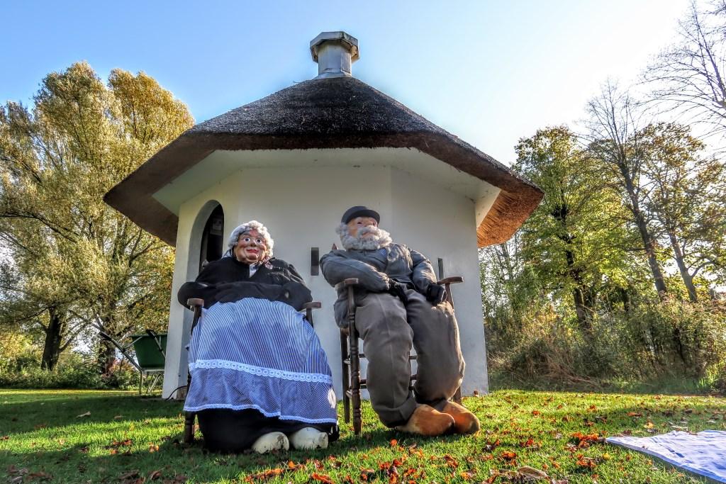 Het echtpaar Snoek woonde eind negentiende eeuw in het Bleekhuisje, dat nu is opgeknapt. Foto: Luuk Stam  © Achterhoek Nieuws b.v.