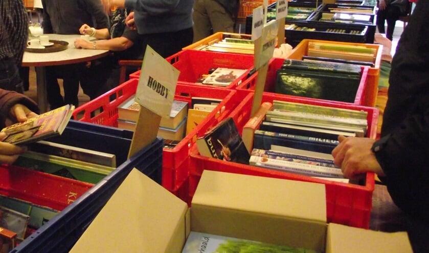 De collectie boeken is enorm uitgebreid. Foto: PR