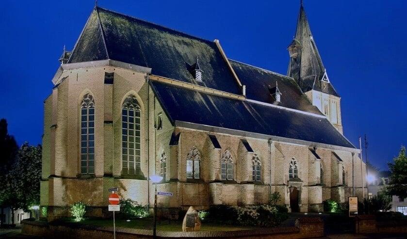 De Oude Helenakerk, waar de verborgen grafkelder werd aangetroffen. Foto: PR