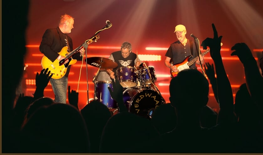 Coverrockband Verdwaald. Foto: Rob Immink