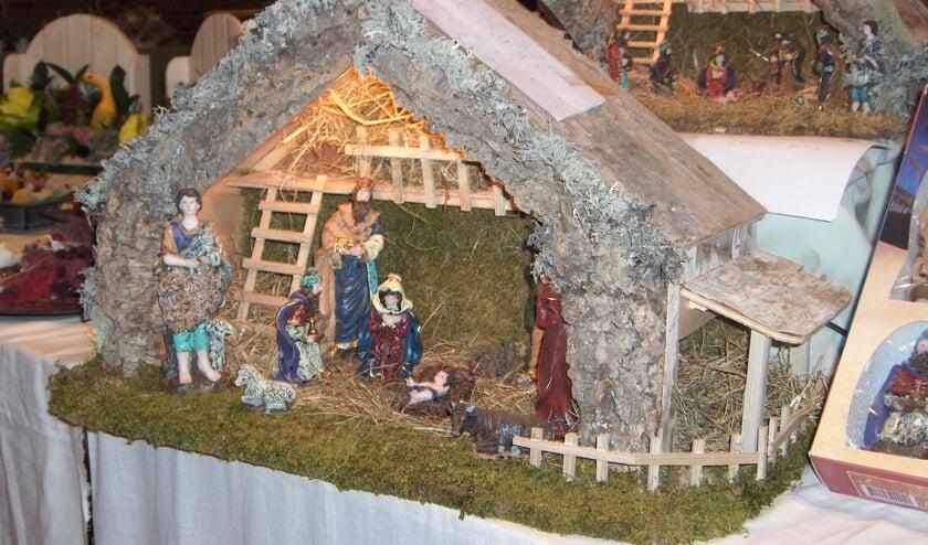 Ook kerststallen zijn er te zien. Foto: PR