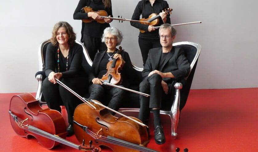 Het Euregio Strijkkwartet. Foto: Joan Dillon