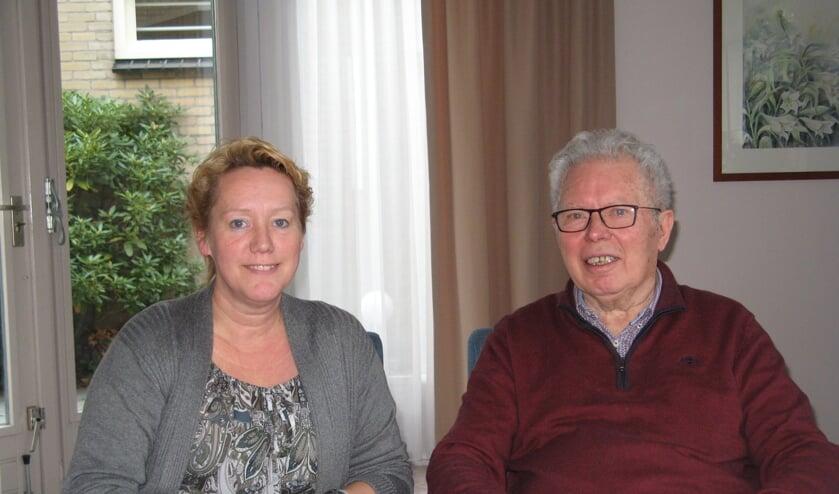 Mieke de Jong en Gerrit Bosman. Foto: Bart Kraan