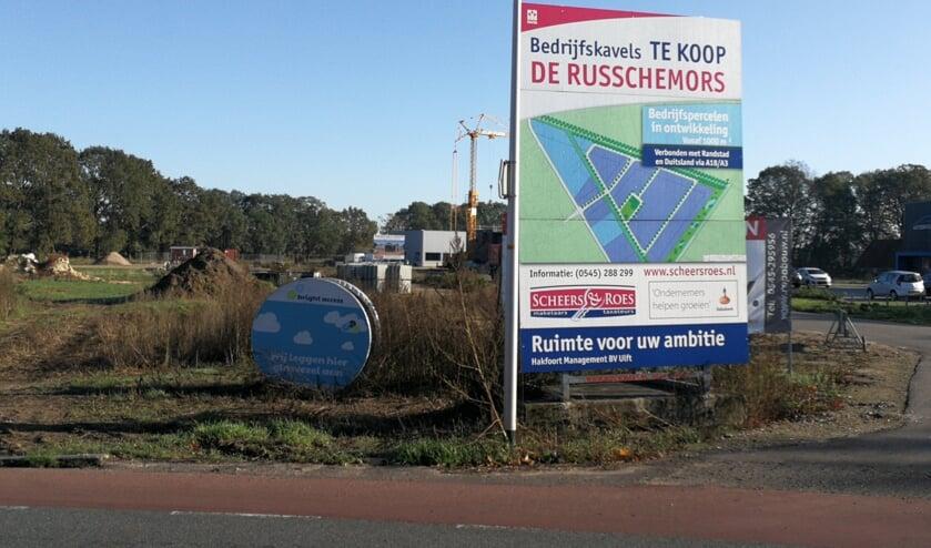 Er is bijvoorbeeld informatie over bedrijventerrein De Russchemors te vinden. Foto: Rob Weeber