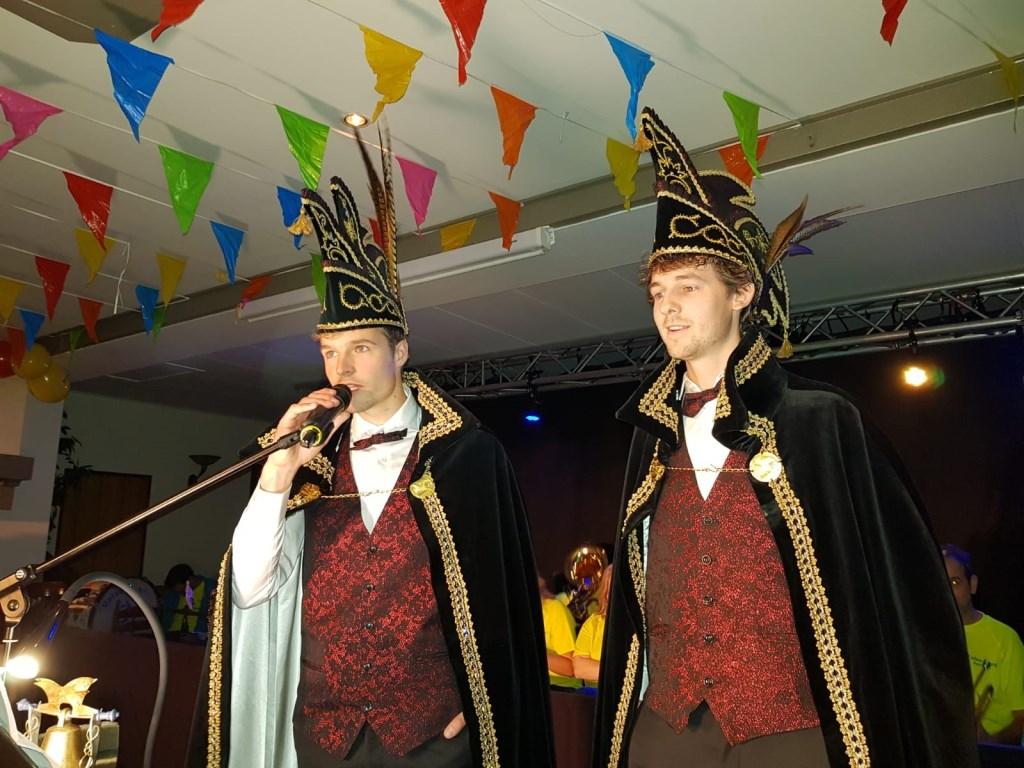 Het prinsenpaar tijdens de proclamatie. Foto: Henri Walterbos  © Achterhoek Nieuws b.v.