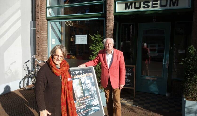 Tienke Brouwer-Boekschoten en Hans van Lith.  Foto: Clemens Bielen