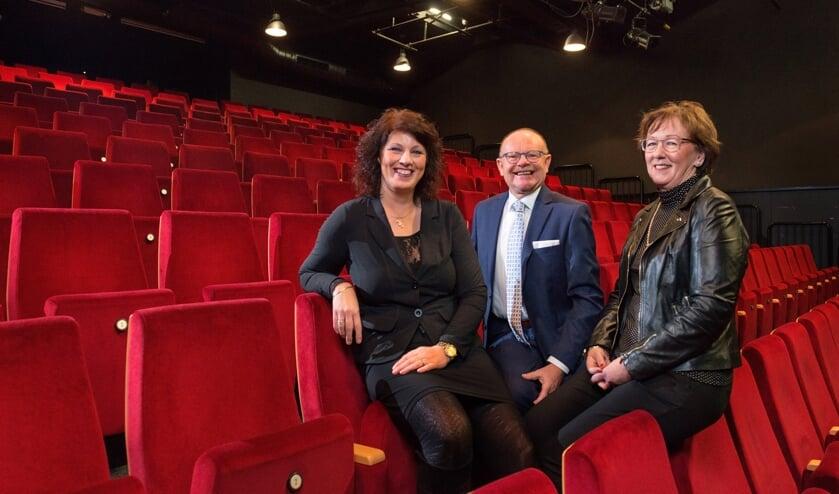 Ester Reusink (links), Johan Teeuwsen en Joke Verwey. Foto: Daniel Hoitink Fotografie en Video