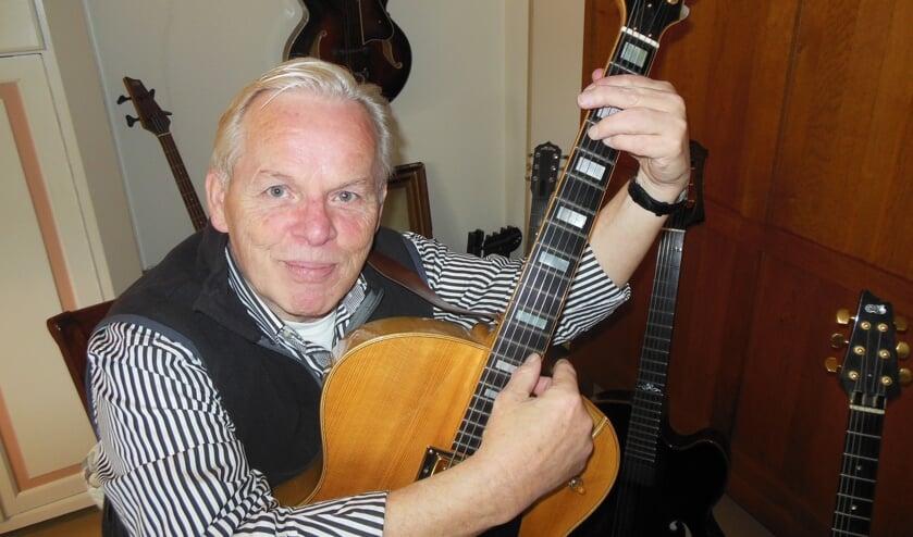 Harrie Leushuis is de 70 inmiddels gepasseerd, maar draagt muziek nog steeds een warm hart toe. Ook die uit zijn jeugd. Foto: Eric Klop