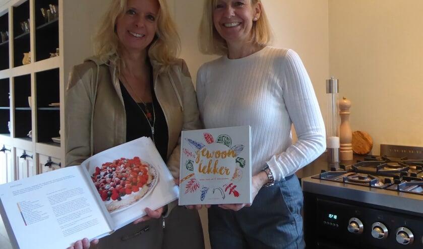 Sietske en Ellen zijn trots op het eindresultaat. Foto: PR