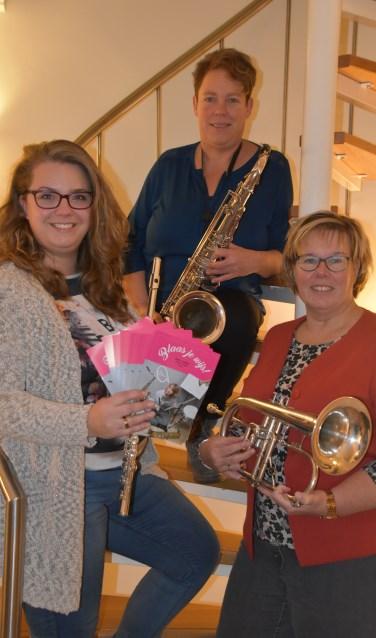 Karin Romeijnders, Hanny Luimes en Astrid Bloemendaal. Foto: Joanne Maalderink
