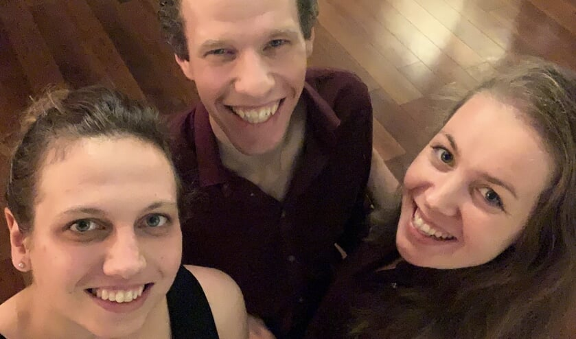 Anneke Bach, Rutger Kupers en Camar van Dillen. Foto: PR