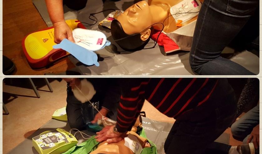 Reanimatie leren we op een pop. Foto: Hilken Tiggeloven