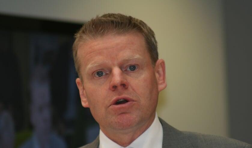 """""""Geen feestbegroting"""", aldus Kees Porskamp van de VVD."""