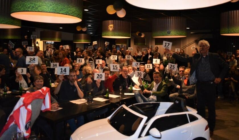 Veiling bij FC Winterswijk. Foto: PR FC Winterswijk