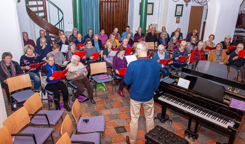 In totaal bestaat het project koor voor A Festival of Lessons and Carols.uit 47 leden.  Foto: PR.