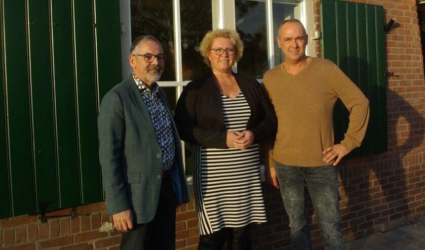 Wethouder Blaauw op bezoek bij Yvonne en René Regelink. Foto: Mirjam Rensink