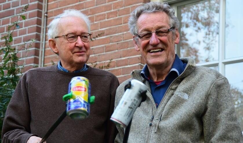 Jan van Aardenne en Henk Post. Foto: Alize Hillebrink