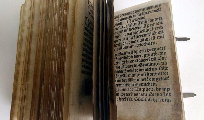 Boekje Thieman bladeren. Foto: PR