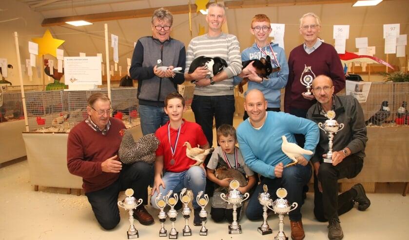 Alle winnaars van de show. Foto Marjan Holmer