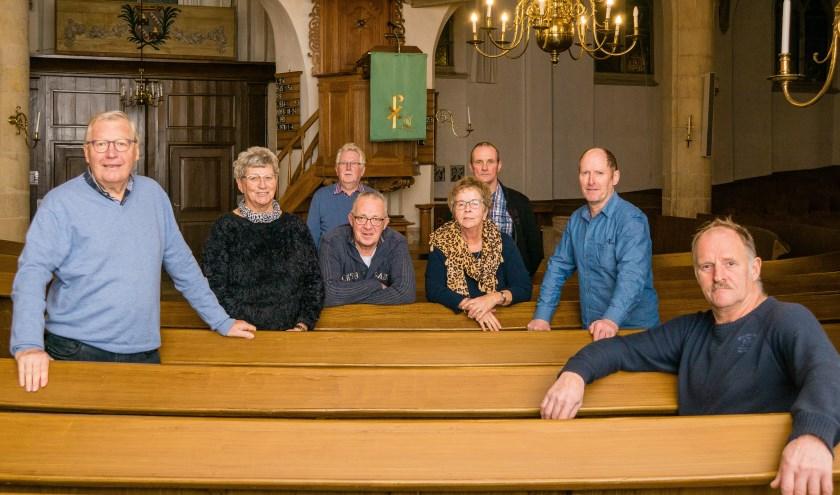 Het bestuur van de stichting Restauratiefonds. Foto: Marcel te Brake