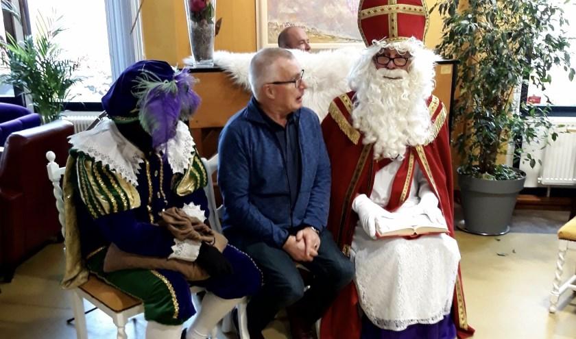 Sinterklaas bezoekt Stadshuus Lochem. Foto: PR