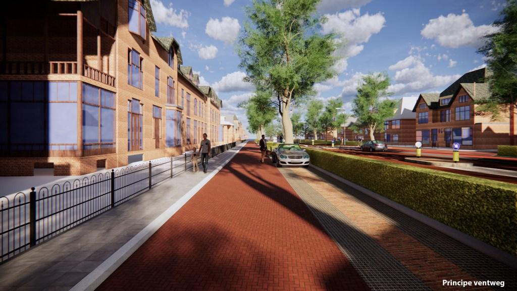Impressie van de Deventerweg. Beeld: Gemeente Zutphen  © Achterhoek Nieuws b.v.