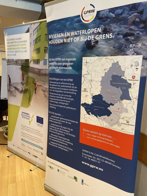 Klimaat, en water, laten zich niet tegenhouden door de grens. Foto: PR  © Achterhoek Nieuws b.v.