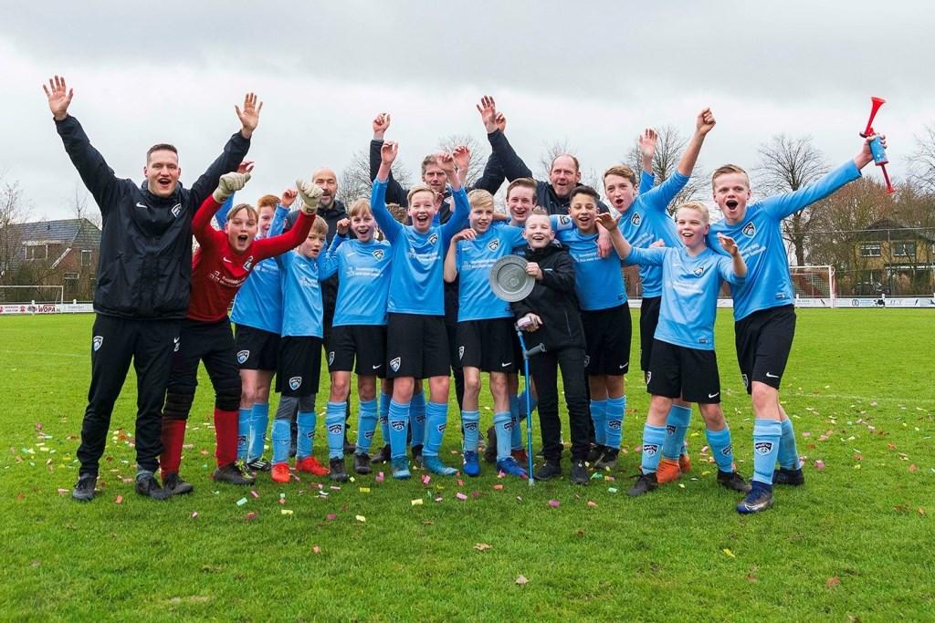 We are the champions, HMC'17 JO13-1Foto: Dennis Lansbergen  © Achterhoek Nieuws b.v.