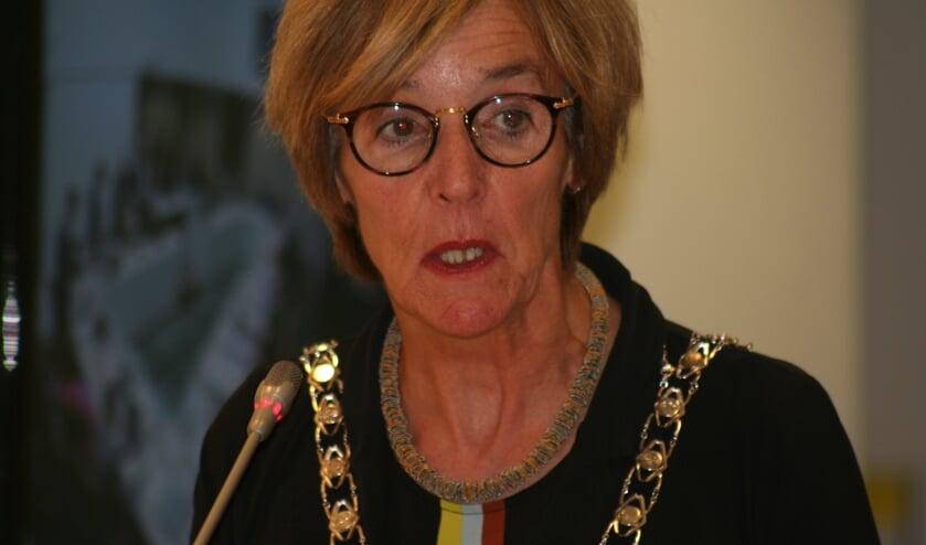 Burgemeester Bronsvoort zegt dat het beleid vooral gericht is op het aanpakken van de handelaren.