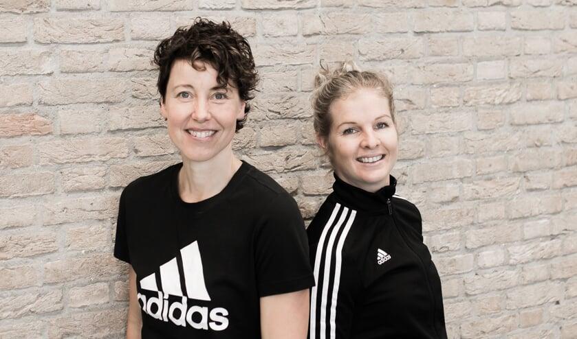 Foto: Links Karen Lievers, rechts Marieke Wevers