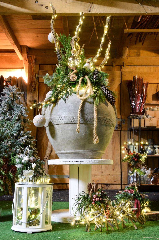 Er zijn ware kunstwerken gemaakt voor de kerstmarkt van MEC. Foto: PR MEC
